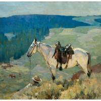 """On the Range (1920)"" by ArtLoversOnline"