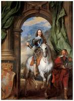 Charles I with M. de St. Antoine (1633)