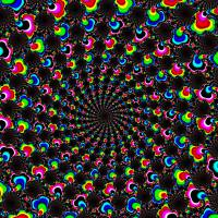 Psychedelic Wormhole by John Tribolet