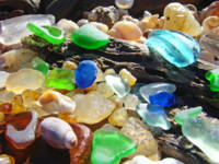 Sea Glass Beach Coastal Art Prints Agates