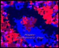 Happy Valentine's Day Abstract