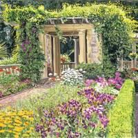 """Italian Gardens Hatley Park"" by DavidLloydGlover"
