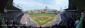 Wrigley Field Panorama - Upper Deck Chicago Cubs