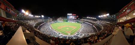 Washington Nationals Park Panorama Infield Gallery
