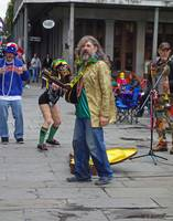 New Orleans Street Music on Mardi Gras