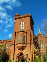 Smithsonian Castle in Washington, DC
