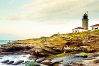 Beavertail Lighthouse RI -3526
