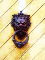 Gothic Iron Head Door knocker