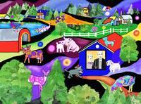 FUNNY ANIMAL FARM / RITA WHALEY by Rita Whaley