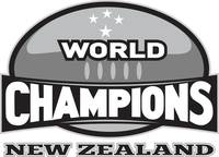 rugby ball world champions New Zealand