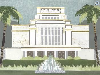 Laie Hawaii Lds Temple By Amy Zeleski