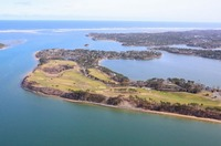 Chatham, Cape Cod : Eastward Point Aerial