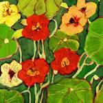 Plein Air Garden Series, No 10a by Jennifer Lommers