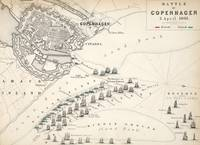 Map of the Battle of Copenhagen