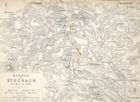Map of the Battle of Stockach