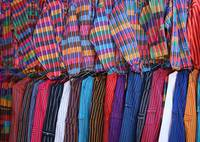 Colorful Jackets and Pants in the Otavalo Market