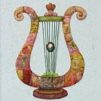 """""""Mosaic Harp"""" by MuchnikArts"""