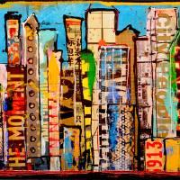 """CITY LIFE"" by ErinAshley"