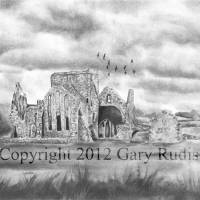 The Abbey by Gary Rudisill Art Prints & Posters by Gary Rudisill