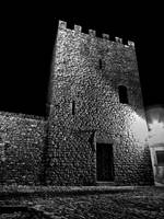 Erice chiesa notte