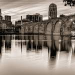 """Historic Stone Arch Bridge"" by GregLundgrenPhotography"
