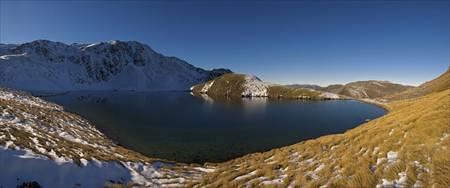 Lake Man Panorama New Zealand South Island