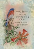 Bluebird Blessing by Sharon Himes