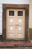 Beige Double Doors