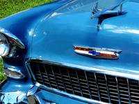 Bel Air Hood Ornament