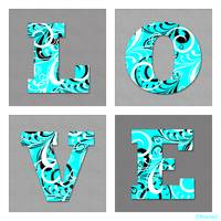 Love Letters Turquoise