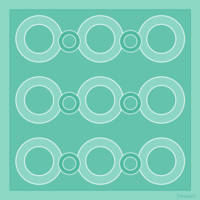 Turquoise Circles
