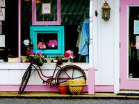 Bicycle By Antique Shop