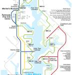 Noland Trail Transit Map Prints & Posters