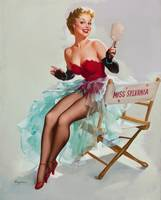 miss sylvania pinup girl big