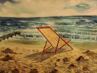 The Beach Chair By The Sea