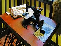 Sewing Machine With Cloth