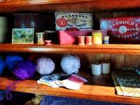 Yarn And Thread In General Store