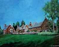 Spring at Hemlock Hill Farm - Connecticut Art