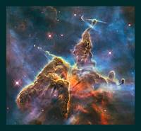 Mystic Mountain in Carina Nebula