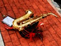 Saxophone Before The Parade