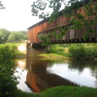 """Ohio Covered Bridge"" by cathypiercepayne"