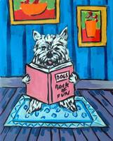 West Highland White terrier Reading