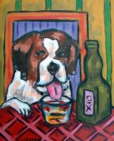 St. Bernard at the Bar