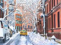 Snow, West Village, NYC