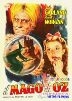 Italian poster of The Wizard of Oz