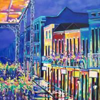 """Bourbon Street"" by neworleansartist"