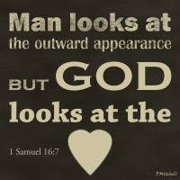 """""""God Looks At The Heart"""" by TruthJC"""