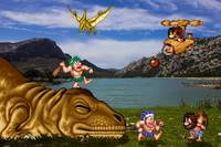 Prehistoric battle