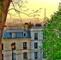 Paris Infinity from Montmartre