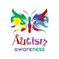 """Autism Awareness Butterfly"" by raineon"